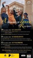 """Giornata Internazionale contro la violenza. L'iniziativa del Comune di Parma Rassegna """"A cura delle donne"""""""