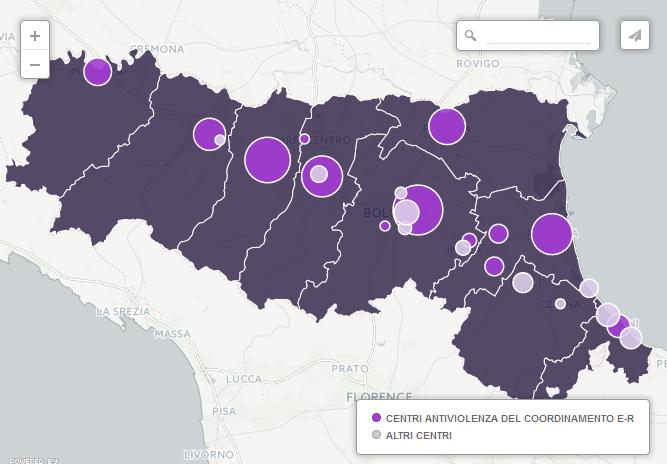 statistiche sui centri antiviolenza