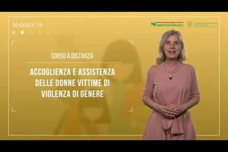 Accoglienza e assistenza delle donne vittime di violenza di genere. Presentazione del  corso e-learning